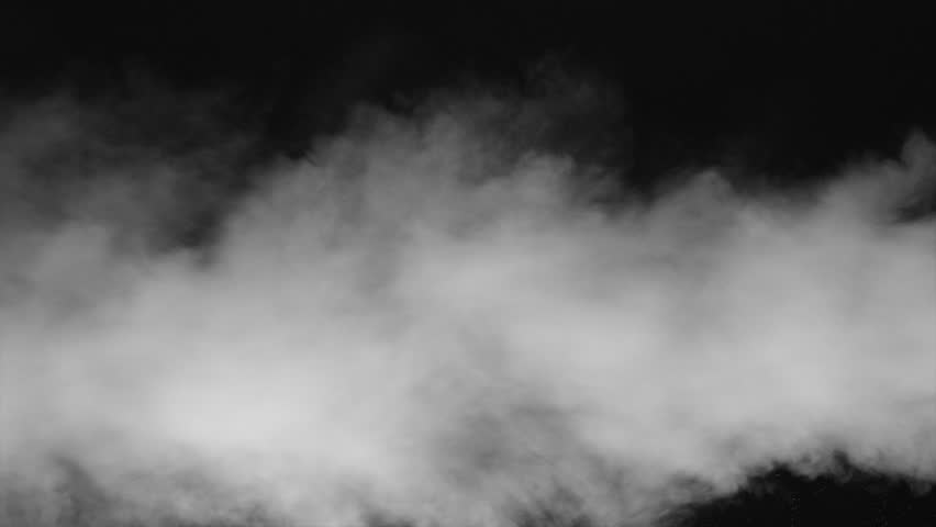 White water vapour on a black background. Close-up shot 4k   Shutterstock HD Video #1028265299
