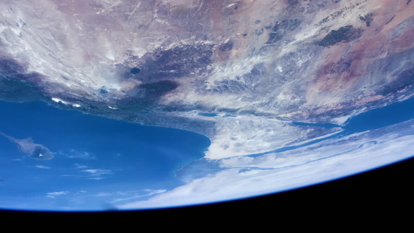 Earth seen from space. Jerusalem, Sinai, Peninsula, Cyprus and Red Sea.    Shutterstock HD Video #1028361329