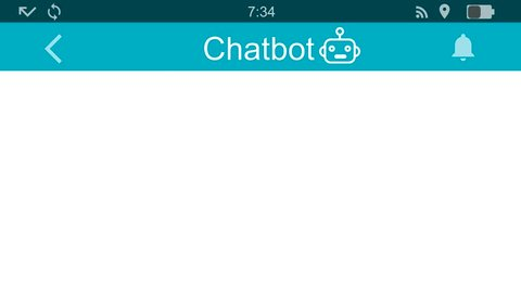 Chatbot at work.Messaging app animation with text bubbles simulating a real chat between users.