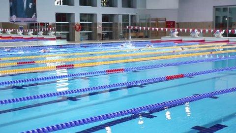 Olympic swimming pool/ Ankara,TURKEY 01.03.2016