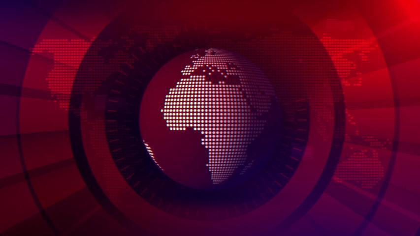 Broadcast News Studio Loop Background | Shutterstock HD Video #1029610019