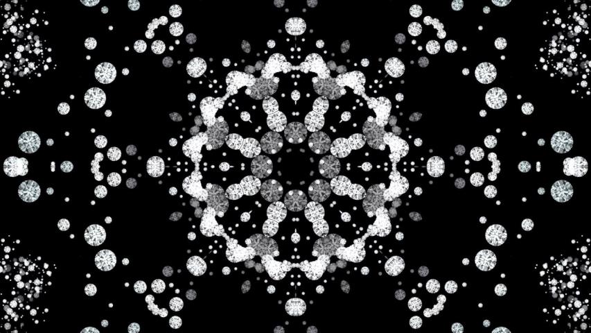 Diamonds animation- kaleidoscopic diamonds background   Shutterstock HD Video #1029960899
