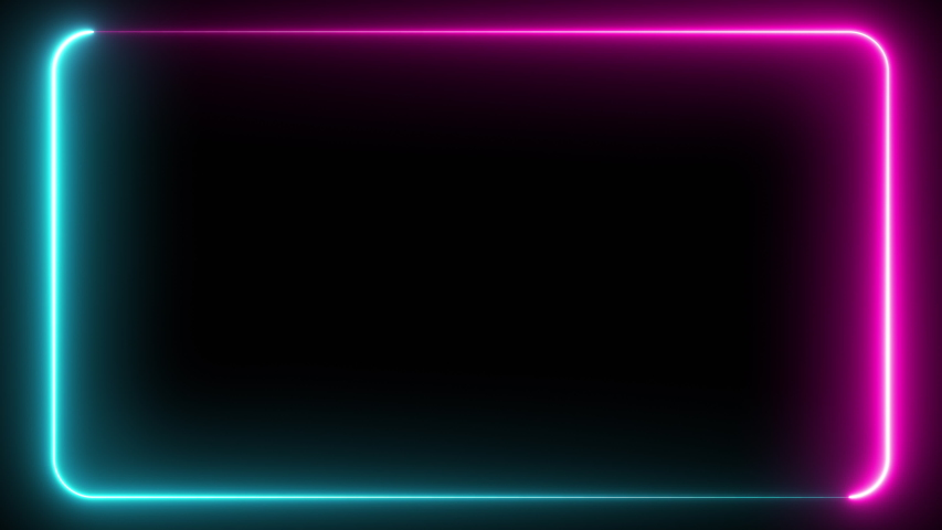 Abstract seamless pattern of neon glowing ultraviolet lines, modern fluorescent light, neon box, pattern for LED screens projection technology, loop 4k background, blue purple spectrum   Shutterstock HD Video #1030218659