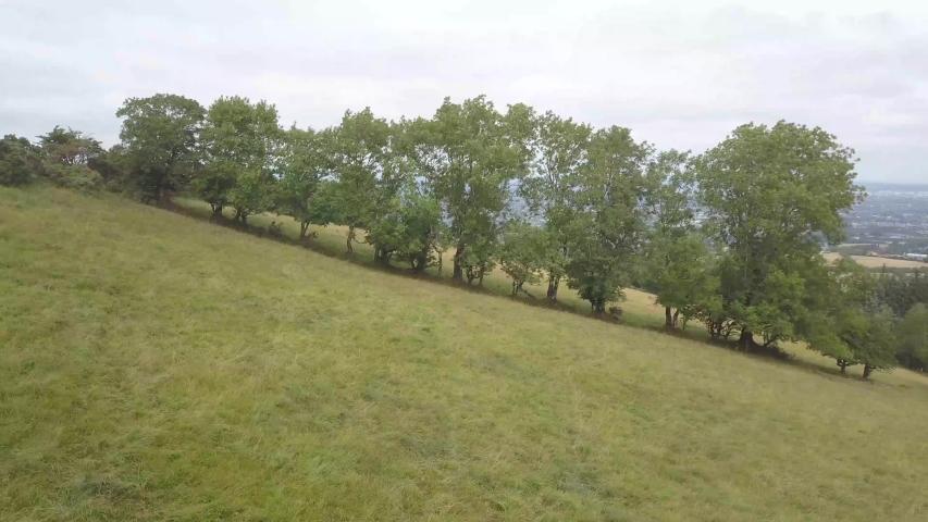 Drone Video Dublin Mountains in Ireland   Shutterstock HD Video #1030327319