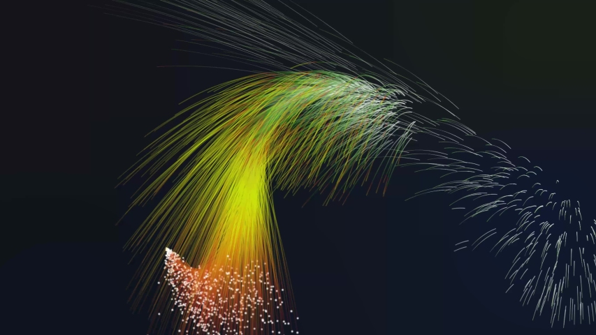 Firework show 4k. Fireworks holiday video background. High-definition abstract motion design on gradient color. | Shutterstock HD Video #1030586969