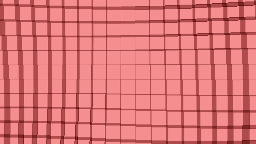 Cube wave red loop, background pattern. | Shutterstock HD Video #1030730609