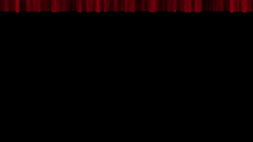 Five options for opening texture curtains with alpha channel.  Textured opening curtains with transparent background, for transitions to film frames, quick overlay.  | Shutterstock HD Video #1030784639