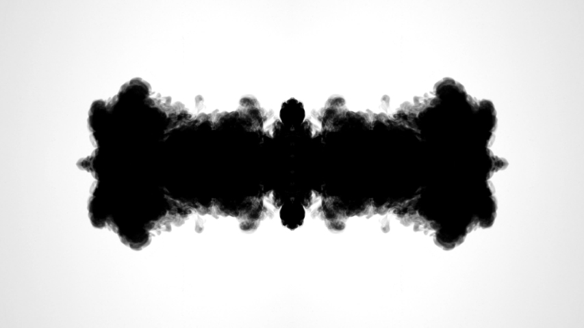 Ink Run, Blot, Sumi Ink in water, Beautiful black watercolor ink drops transition on white background - ink effect, transparent, transition, chamber, Mirror, isolated, with circle organic flow expand | Shutterstock HD Video #1031172809