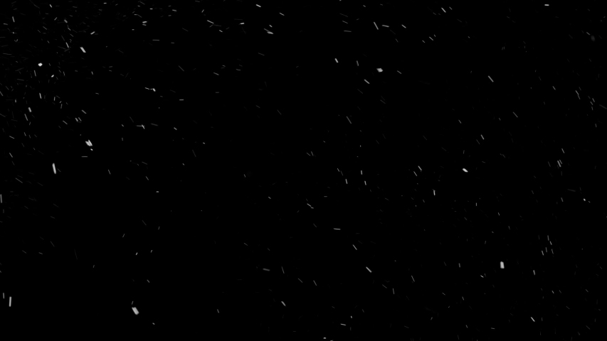 Lens Distortion Snow, falling snow isolated on black background in 4K to be used for composing, motion graphics, Large and small snow snowflakes, Isolated falling snow, Alpha, Ethereal, Intense, Storm | Shutterstock HD Video #1031175359