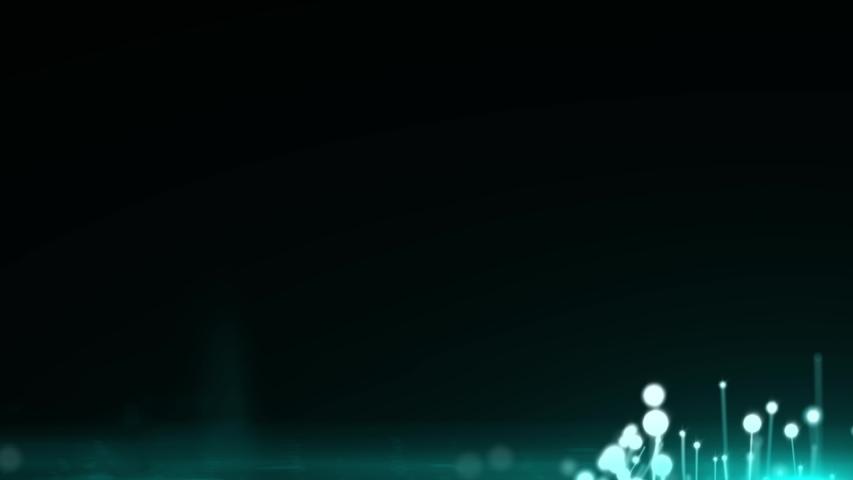 Blue glitter sparkles animation on black background. 4k shiny backdrop footage..    Shutterstock HD Video #1031312039