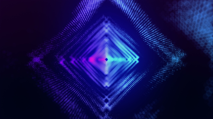 3d rendering of the vj particles  | Shutterstock HD Video #1031505839
