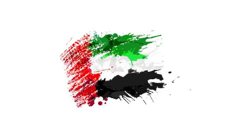 Flag of the United Arab Emirates-  different types United Arab Emirates-Flag