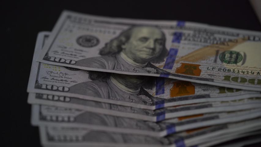 US Currency, $100 bill. . | Shutterstock HD Video #1031949149