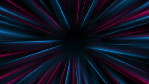 Time Warp Tunnel Animated Background Stock Footage Video