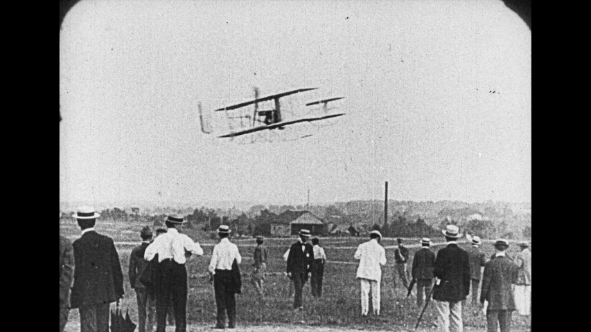 1908 Wright Brothers Flyer Test Flights at Fort Myer VA Photo Historic Aviation