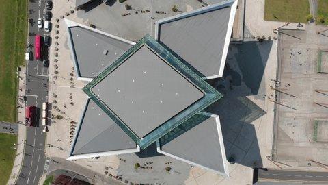 Titanic Belfast Museum Aerial View
