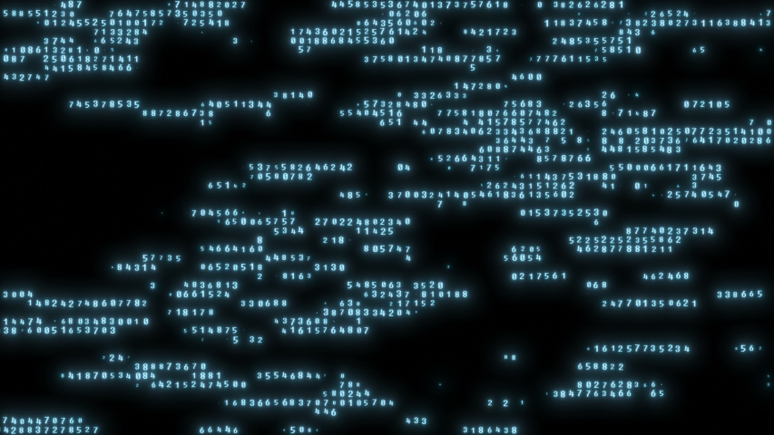 Code strings changing on screen, decoding process, programming. Abstract hacking background, data loss, identity theft. Can be used as digital dynamic wallpaper, technology background. | Shutterstock HD Video #1034672009