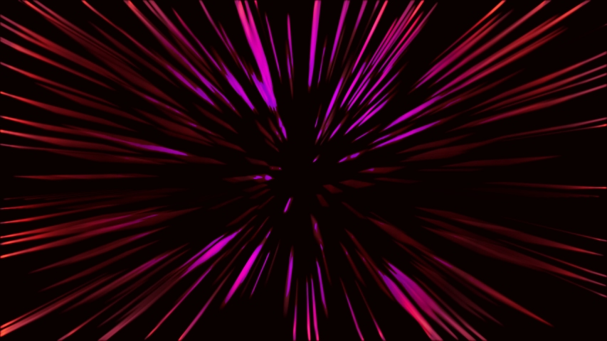 Abstract tunnel speed light Starburst background technology. | Shutterstock HD Video #1035353339