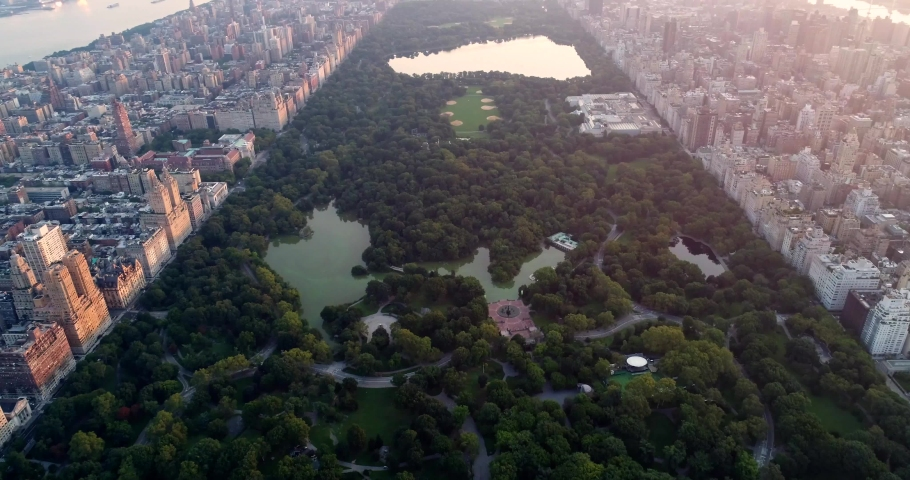 New York City Aerial 4k | Shutterstock HD Video #1035554039