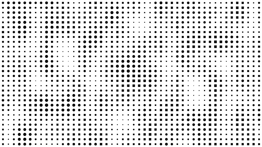 Seamless - Halftone converting dots to square motion background, Square pixelate background, Retro and Vintage Pattern. | Shutterstock HD Video #1035602159
