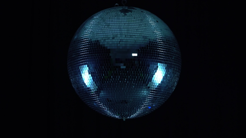 Party lights disco ball on black background | Shutterstock HD Video #1036981739