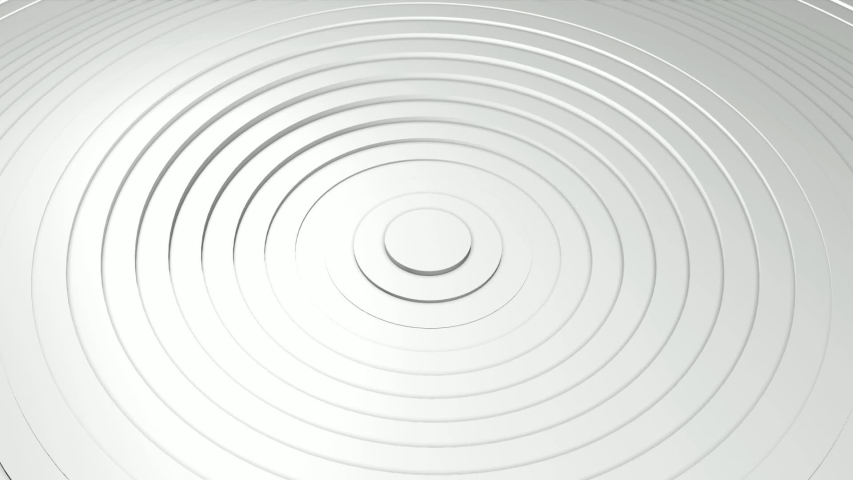 Abstract background with waving surface in motion. Animation of seamless loop. | Shutterstock HD Video #1038475799