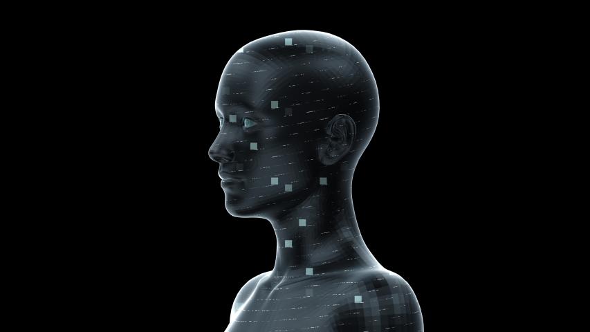 AI, artificial intelligence digital network technologies concepts Background. | Shutterstock HD Video #1038901739
