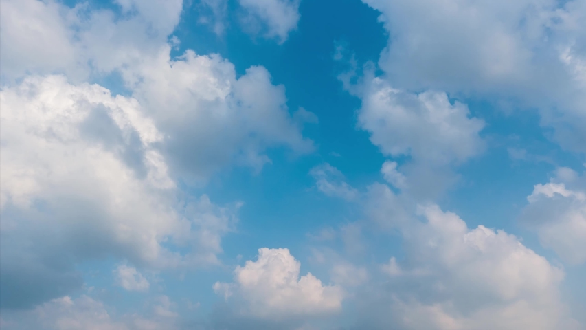 Building motions clouds with sky. Puffy fluffy white clouds sky time lapse. slow moving clouds.sky time lapse. Cloudscape timelapse cloudy. footage timelapse 4k. background worship christian concept. | Shutterstock HD Video #1040745419