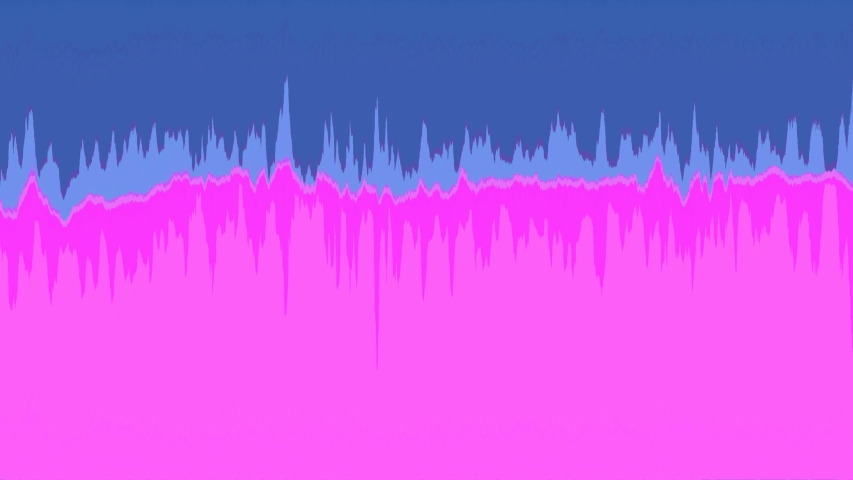 Blue and pink pixelated waveforms, loop   Shutterstock HD Video #1040939249