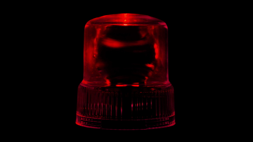 Red Emergency Flasher Siren Light 4K Loop Alpha | Shutterstock HD Video #1040977169
