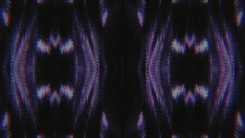 Abstract Symmetry and Reflection Digital Pixel Noise Glitch Background   Shutterstock HD Video #1040983559