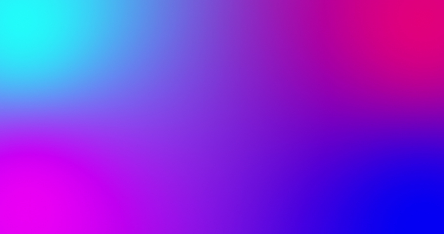 Blurred multicolored bright lights on gradient background. Soft gradient bacground with four color crossing together. Fluid liquid colored smooth animation. Minimal futuristic background in neon color | Shutterstock HD Video #1041395989