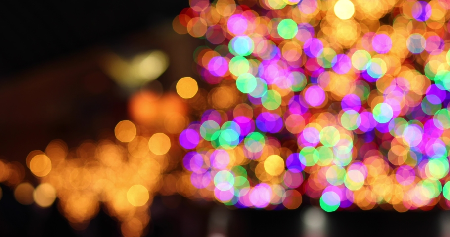 Footage of Christmas illuminations downtown Tokyo | Shutterstock HD Video #1045143919