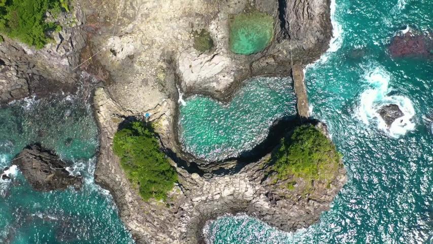 Shooting Hwanguji Coast on Jeju Island | Shutterstock HD Video #1045450189