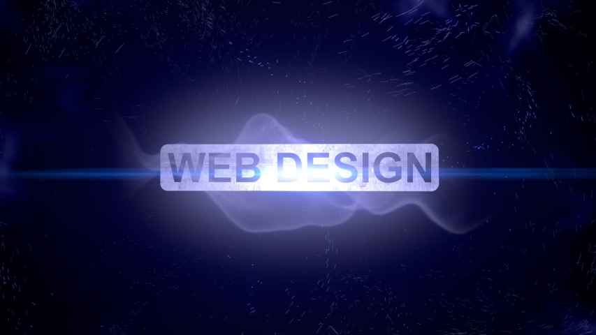 Web design intro outro title reveal animation  | Shutterstock HD Video #1045873429