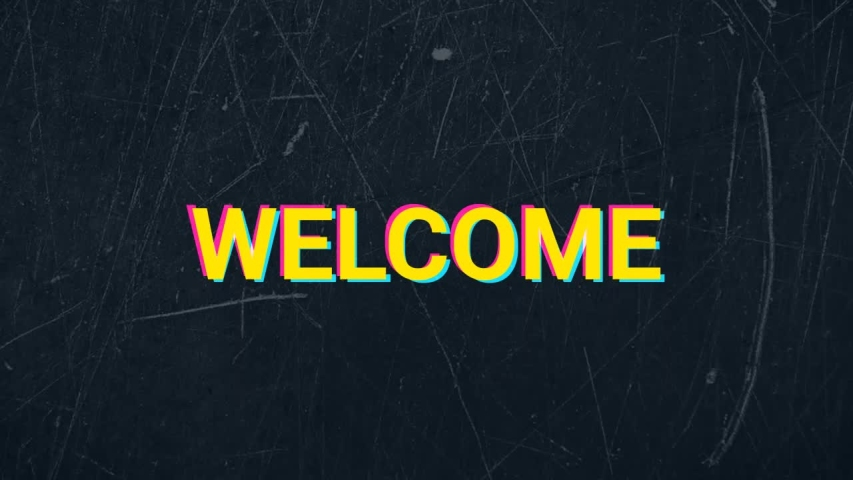 Welcome words grunge style animation | Shutterstock HD Video #1046166019