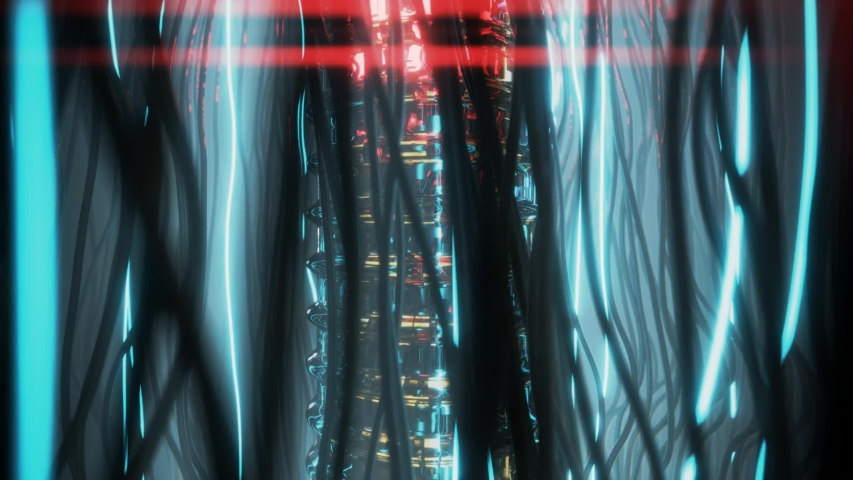 Vj video. Abstract moving fluid. Visual illusions, moving waves. Psychedelic abstraction for hypnosis. Background for playing video jockey, Computer graphics for the design of concerts, nightclubs | Shutterstock HD Video #1047021949