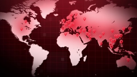 World Map Stock Video Footage 4k And Hd Video Clips Shutterstock
