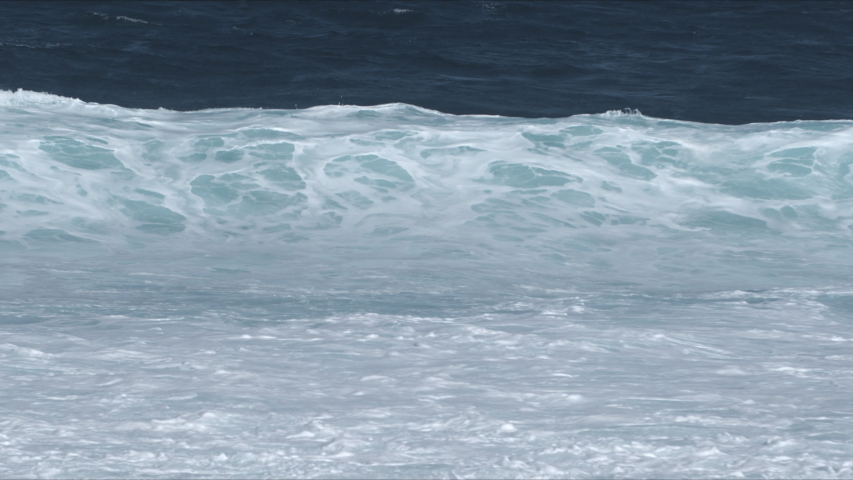 Powerful Waves breaking in the sea, Fuerteventura, Canary Islands. | Shutterstock HD Video #1049666629