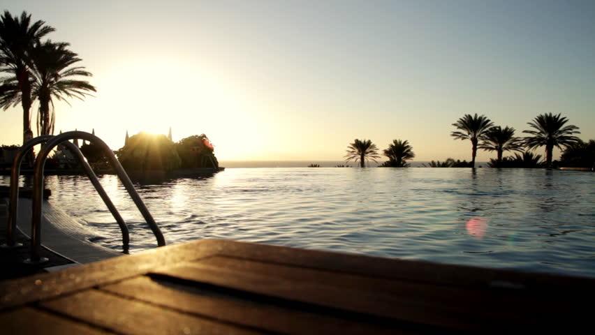 Luxury Hotel infinity pool