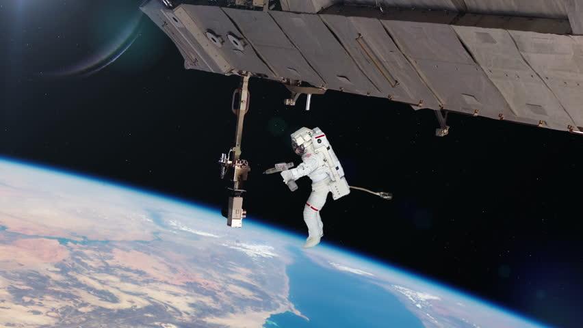 international space station astronaut spacewalk - photo #16