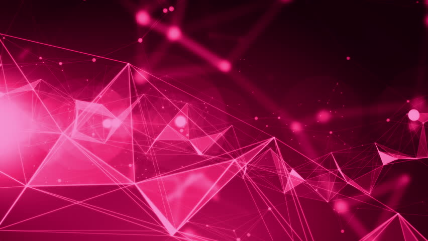 Abstract Technology Background With Light Effect: 4k Technology Abstract Animation Background Seamless Loop