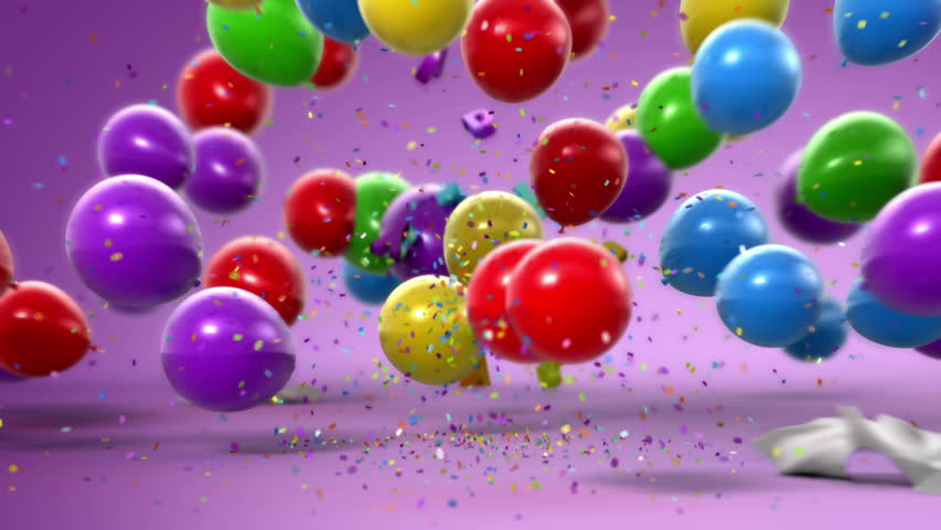 Happy Birthday Funny 3d Animation Stock Footage Video