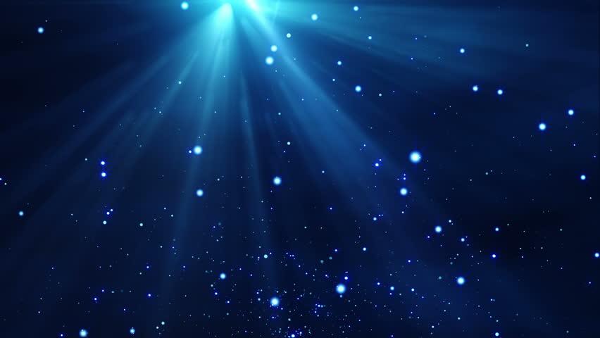 Blue Particles Bokeh Loop Motion - 4K Resolution Ultra HD Stock ...