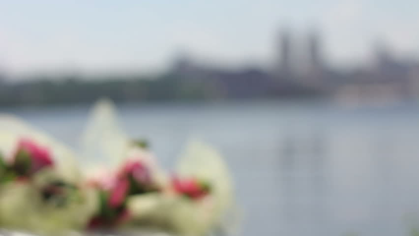 Close up of couple handing at wedding | Shutterstock HD Video #10832339