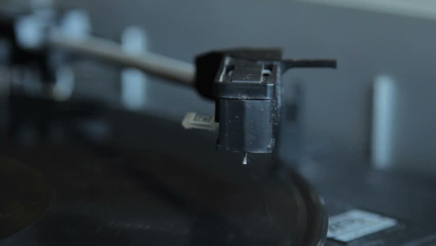 Record vinyl on turntable in vintage color tone | Shutterstock HD Video #10838129