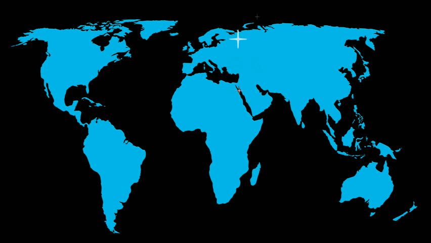 World map wraps to globe black background classic tv news style simulated stars move over outline map of world map zooms towards north american continent gumiabroncs Image collections