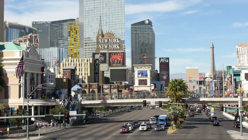 Zauberkünstler in Las Vegas - Strip bei Tag