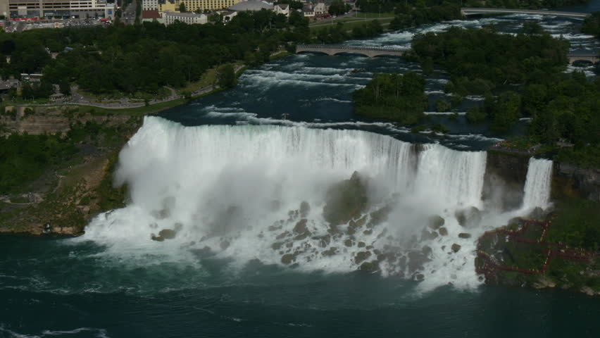 Niagara Falls On The American Stock Footage Video 100 Royalty Free 10999919 Shutterstock