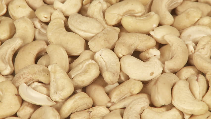 Cashew Nuts Background Closeup Stock Footage Video (100% Royalty ...